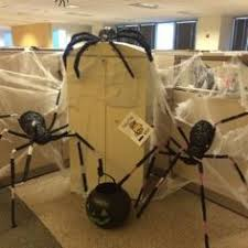 halloween office decoration theme. Scary Halloween Spiders At Office From Getitcut.com Decoration Theme O