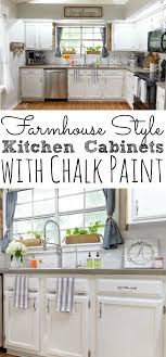 painting kitchen cabinets with chalk paint from dixie belle from 80 s drab to farmhouse fab
