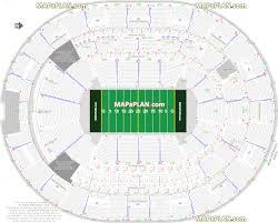 Orlando Amway Center Predators Arena Football Sideline