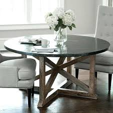 inspiration house interesting dining tables zinc top round table inside astounding galvanized metal uk in