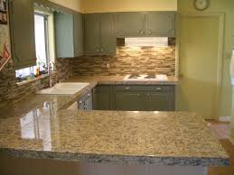 Kitchen:Mosaic Style Of Kitchen Backsplash Using Glass Tiles And Porcelain  Decor Endearing Kitchen With