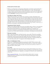Restaurant Business Plan Restaurant Business Plan Template Program Format 21