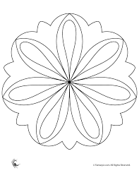 Click the button below to get instant access to these worksheets for use in the classroom or at a home. Simple Mandala Coloring Pages Coloring Home