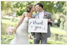 Image result for thank you wedding photo cards