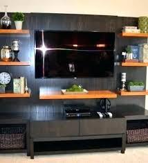 floating shelves entertainment
