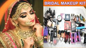 bridal makeup kit म क य ह ज र र