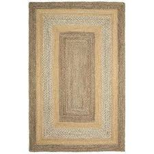 classic jute gray natural rectangle 3 ft 6 in x 5 ft