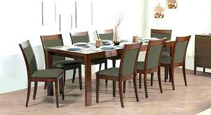 glass dining table 8 seater 8 table and chairs 8 seat dining room set 6 to