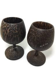 details about shot glass wooden shot wine glasses set of 2 white red wine holder handmade palm