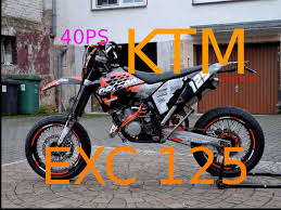 my first ride with a ktm exc 125 supermoto youtube