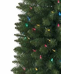 National Tree Company  PreLit Christmas Trees  Artificial Kingswood Fir Pencil Christmas Tree