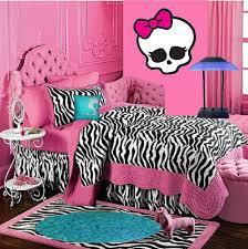 Iu0027d Do The Walls White With Pink Zebra Trim.but I Love The Sheets U0026 Carpet
