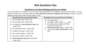 quoting a quote mla quotes and citations essay www moviemaker com