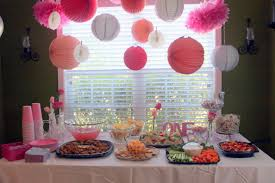 Birthday Party Decoration Ideas For Baby Girl Flisol Home