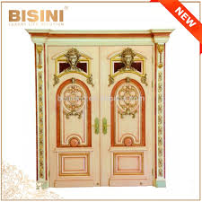 french baroque style gold leaf interior double door palace clic solid wood hand carved villa entrance door front entry door villa entrance wooden