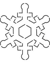 Amazing After Christmas Savings on Quilting Creations Snowflake ... & Quilting Creations Snowflake Quilt Stencil, 4-3/4