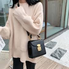 Designer Mini Crossbody Bag Hot Discount 1859 Mini Stone Pattern Pu Leather Crossbody