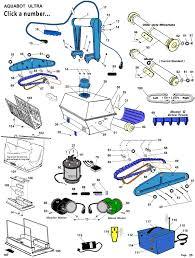aquabot ultra parts