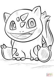 Free Printable Pokemon Coloring Pages Bulbasaur Pokemon Coloring