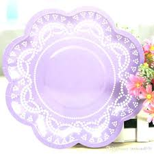 Pink Flower Paper Plates Flower Paper Plates Ias Para Fiesta Fiestas Corporatealliance Co