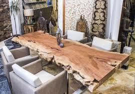 Der Tischonkel Tischplatte Esstisch Aus Einer Baumscheibe