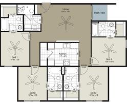 four bedroom apartment. fine four bedroom inside apartment