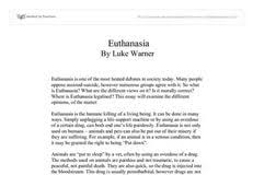 euthanasia agree essay essays on a doll s house by henrik ibsen euthanasia agree essay