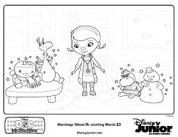 Doc Mcstuffins Coloring Pages Free Doc Stars Free Printable Coloring