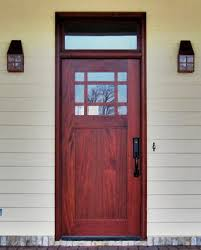 front door with one sidelightDoors by Decora  Craftsman Collection  DbyD4006