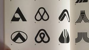 looking for inspiration you find this in old design books on ebay airbnb logo can be found in a book from 1980