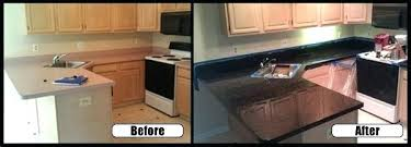paint formica kitchen countertops counter before after how to spray