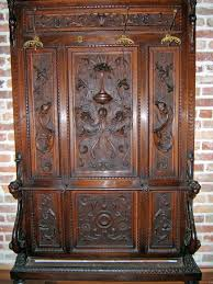 Antique Hall Coat Rack 100 best HALL TREE DESIGNS images on Pinterest Antique furniture 25