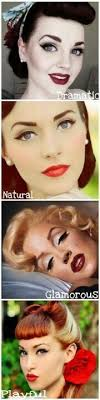 love the nostalgic pure porcelain and natural look of bygone years pin up vine makeup styles look at the natural look i like how calm and smooth