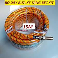 Dây xịt rửa xe áp lực gia đình 15M / ren 13mm dây rửa xe mini ống dây rửa  xe dây rửa xe cho máy rửa xe 20m dây cao áp cho
