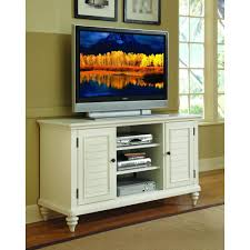 white tv entertainment center. Home Styles Bermuda Brushed White Storage Entertainment Center Tv