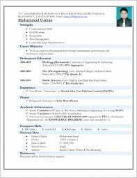 Fresh Idea To Engineering Resume Format Collection Of Resume Format