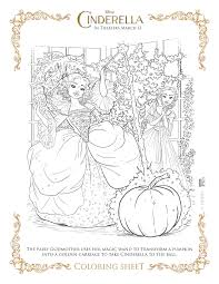 Free printable cinderella coloring pages. New Disney S Cinderella Coloring Pages And Activity Sheets