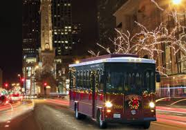 Chicago Trolley Christmas Lights Holiday Lights Tour Chicago Parent