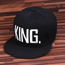 2018 <b>Hot Sale KING QUEEN</b> Hip Hop Baseball Caps Canvas Letter ...
