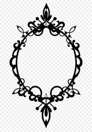 filigree vector frame png png picture frame filigree ornament clip art victorian
