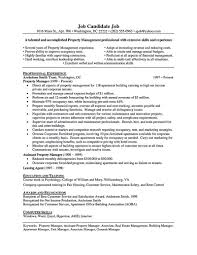 Assistant Property Manager Resume The Best Resume