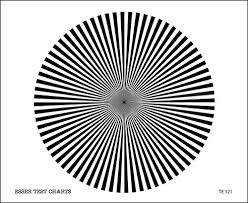 Back Focus Test Chart Te121
