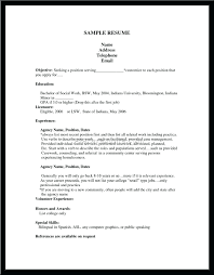 How To Make Job Resume Resume First Job Resume 48