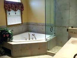 best tub shower combo and jetted corner whirlpool bathtub ideas on decoration one piece