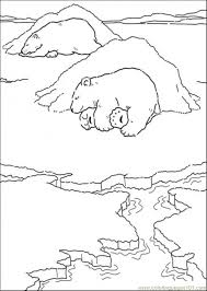 Small Picture Polar Bear Is Sleeping Coloring Page Free The Little Polar Bear