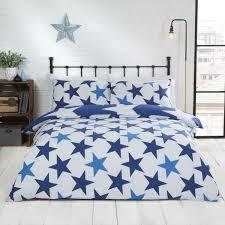 all star reversible duvet cover set navy blue