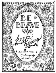 Quote Coloring Pages For Adults Printable Coloringstar