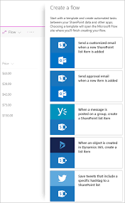 Flow Template Create A Flow For A List Or Library In Sharepoint Online Or