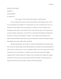 example of evaluation essay co example of evaluation essay