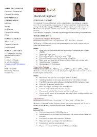 Template Engineer Resume Template Cv Engineering Pqm Network